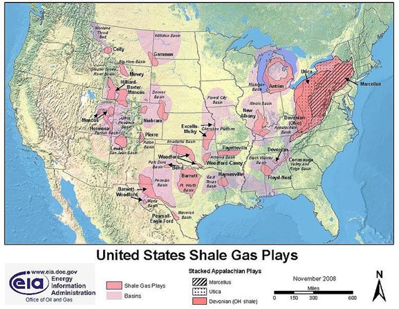 Radio Documentary, Pt  I: Geology « FRACTURED – Gas Drilling in